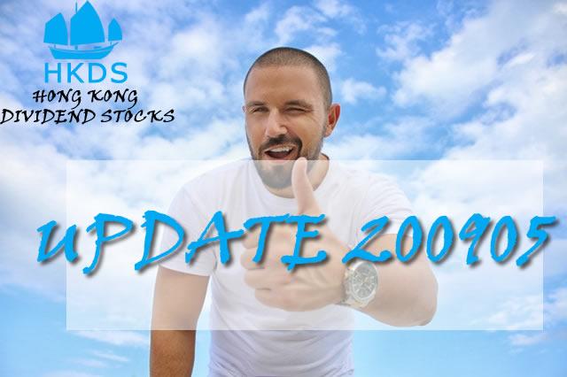 200905 Update Hong Kong Dividend Growth stocks
