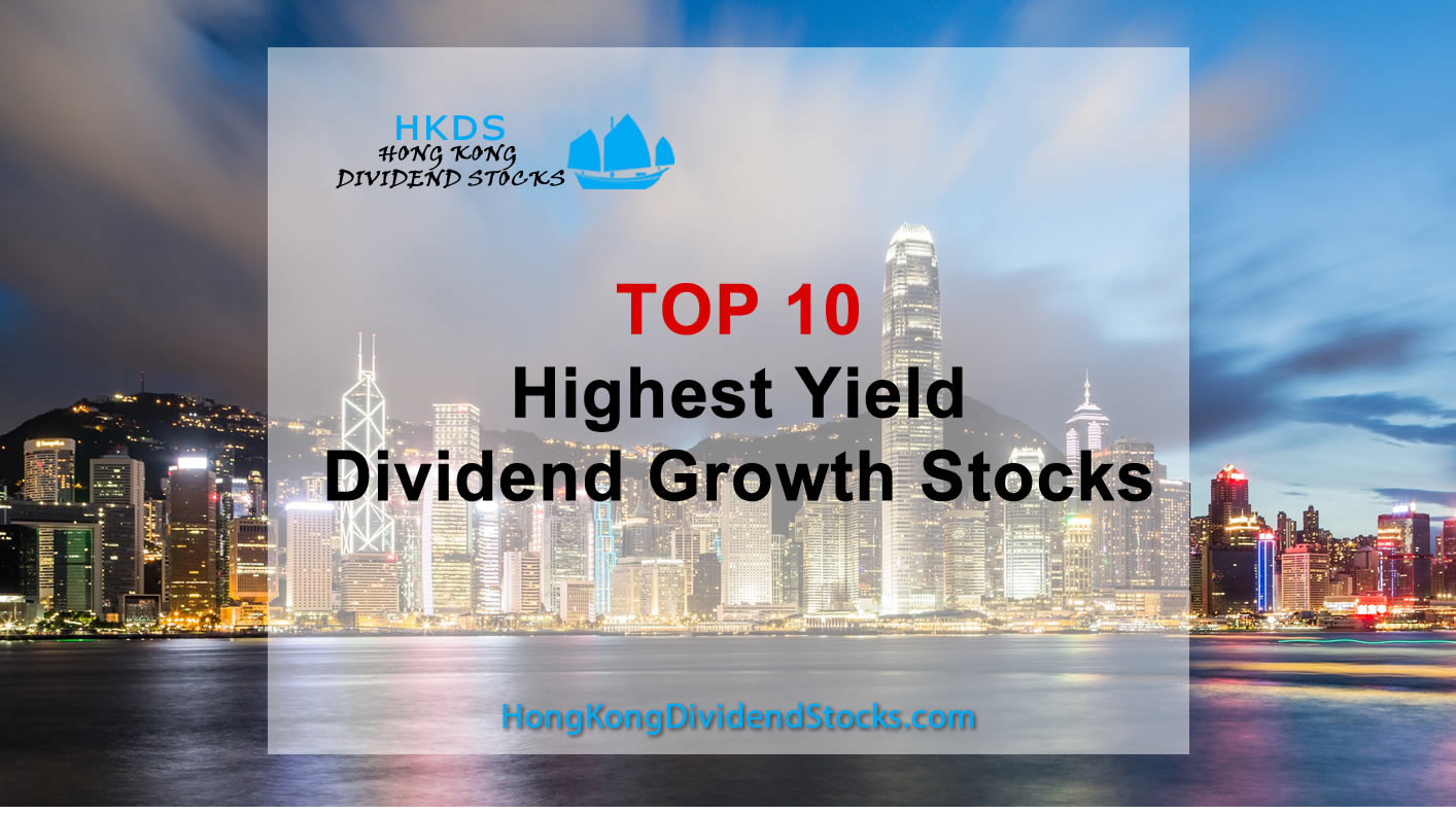 Top 10 High yield Dividend Growth Stocks