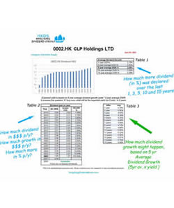 5- What does Dividend History tell you?