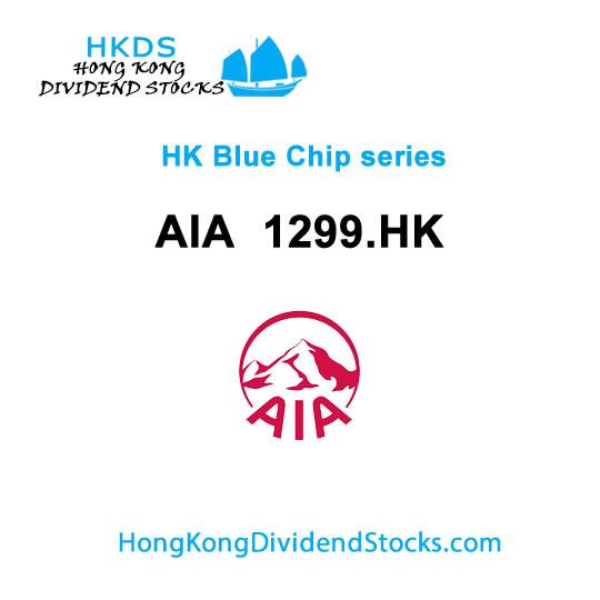 AIA  HKG:1299 – Hong Kong Blue Chip stock