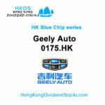 Geely Auto  HKG:0175 - Hong Kong Blue Chip stock