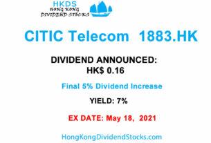 210304 HKG:1883 Citic Telecom Results