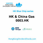HK & China Gas  HKG:0003 - Hong Kong Blue Chip stock
