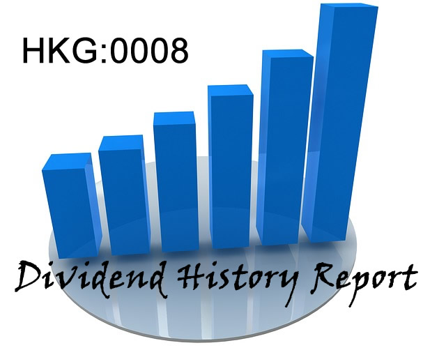 0008.HK PCCW Dividend History Report
