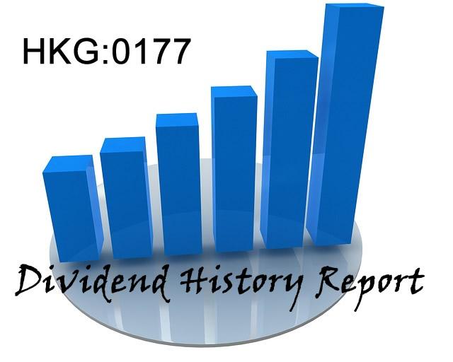 0177.HK JiangSu Expressway Dividend History Report