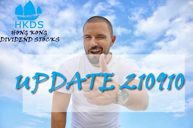 210910 Update Hong Kong Dividend Growth Stocks