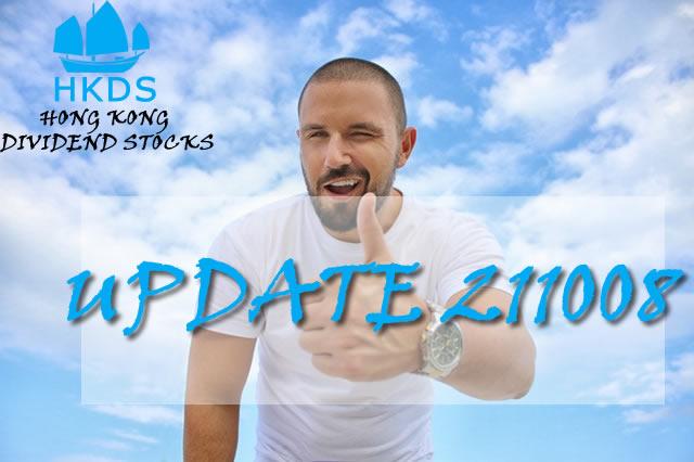 211008 Update Hong Kong Dividend Growth Stocks